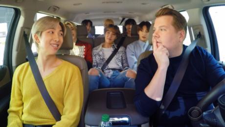 BTS jams out in 'Carpool Karaoke' debut
