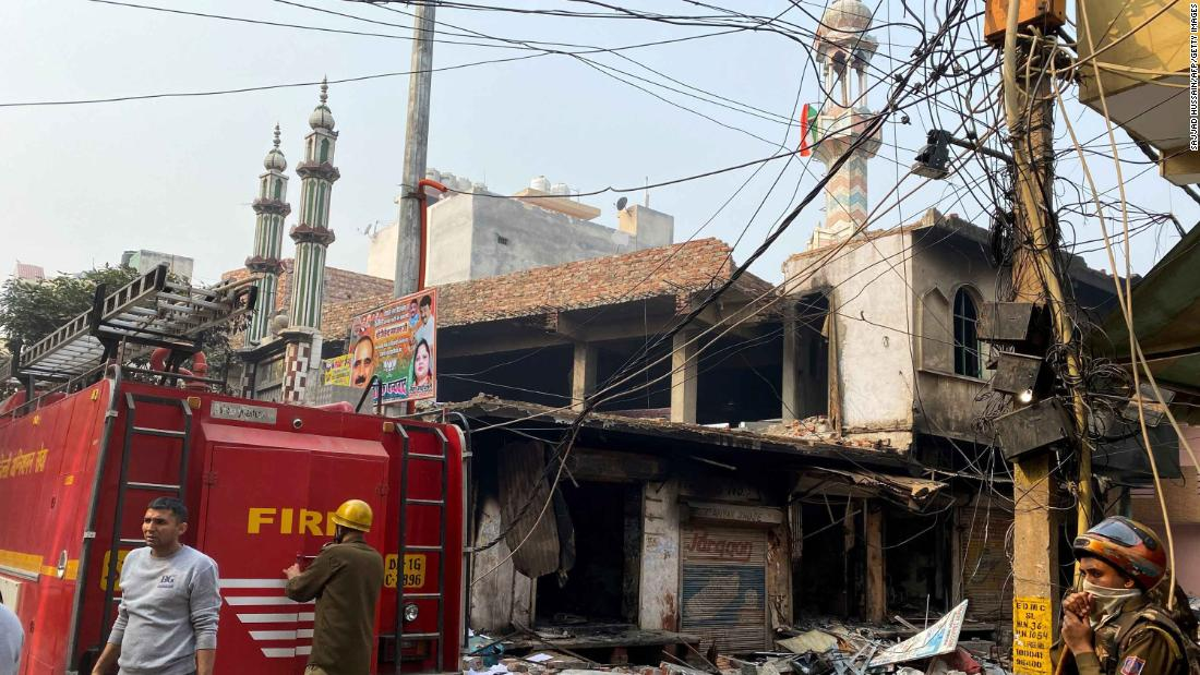 Several dead after violent clashes in India