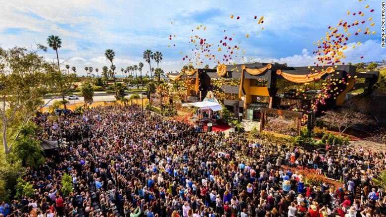 The Church of Scientology celebrated the grand opening of its Ventura church with a balloon release.