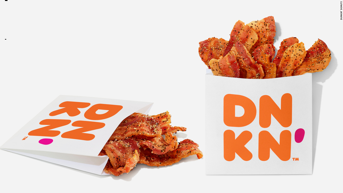 Dunkin' Donuts' latest release is quite simply a bag of bacon