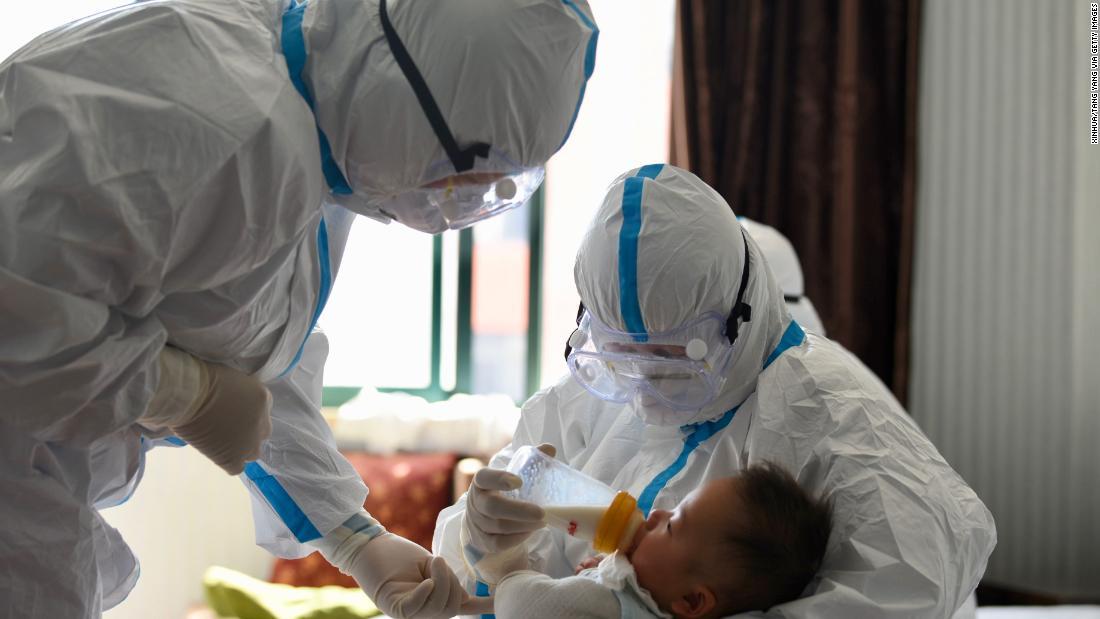 maske baby virus