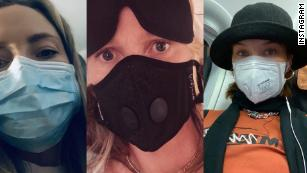 Celebs pictured in face masks amid coronavirus fears