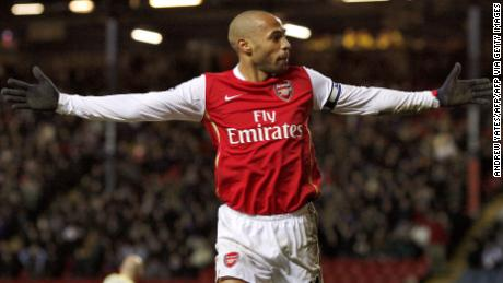 Thierry Henry sits sixth in the Premier League goalscoring charts with 175 goals and won the title twice.