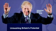 British Prime Minister Boris Johnson outlines his government's negotiating stance with the European Union after Brexit.