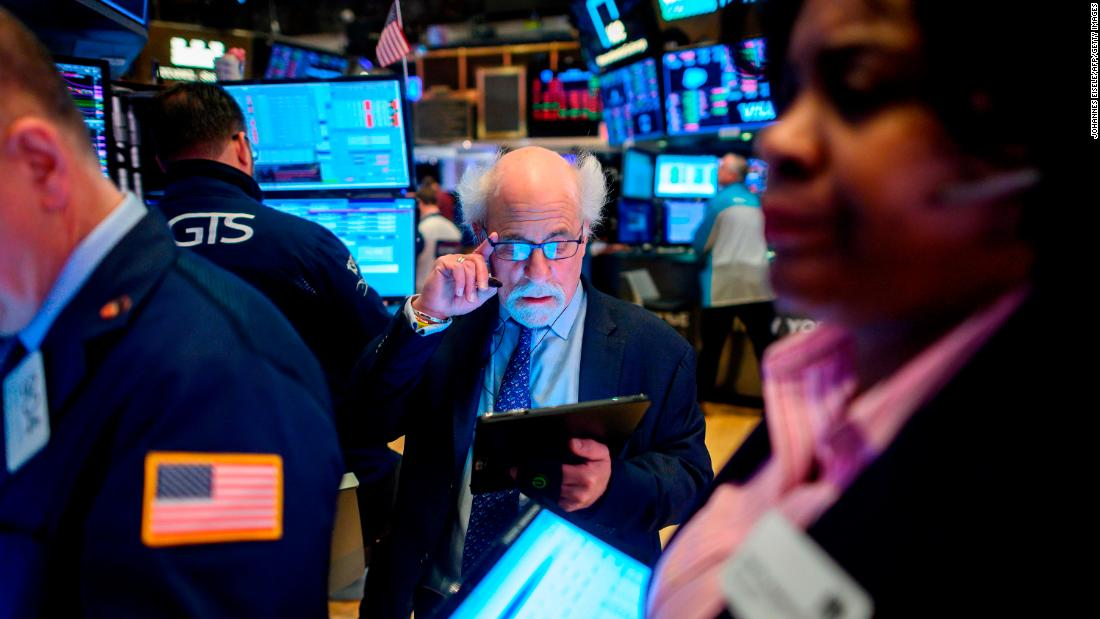 Dow falls 1,191 points -- the most in history