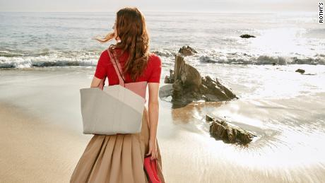 Rothy's unveiled its first handbag collection made from recycled ocean plastic waste.