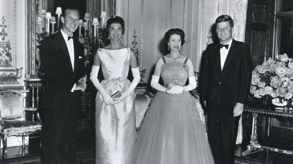 "John F. Kennedy: Amid much fanfare and huge media interest, Kennedy and his wife, Jackie, were dinner guests at Buckingham Palace in June 1961. He later wrote that he would ""cherish the memory of that delightful evening,"" in a birthday letter written to the Queen. He added: ""The people of the United States join with me in extending to your Majesty and to the people of the Commonwealth best wishes and hearty congratulations on the occasion of the celebration of your birthday. ... May I also at the same time say how grateful my wife and I are for the cordial hospitality offered to us by your Majesty and Prince Phillip during our visit to London last Monday. We shall always cherish the memory of that delightful evening."""