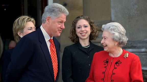 "Bill Clinton: Clinton met the Queen more than once during his tenure. He said: ""She"