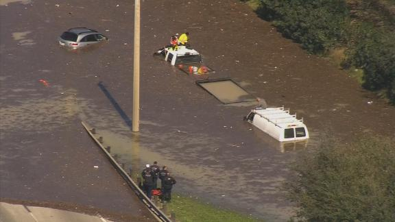 Image for Much of Houston remains under boil-water notice as crews repair broken water main that supplies about half of the city