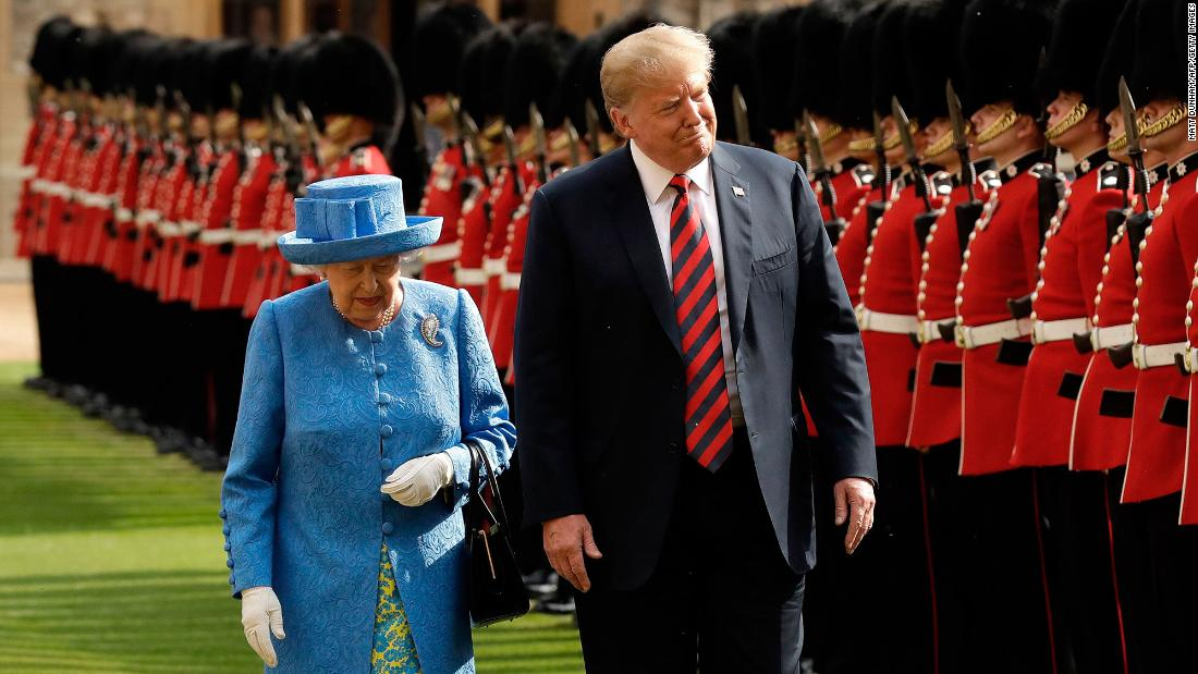 All the Queen's presidents: From Truman to Trump