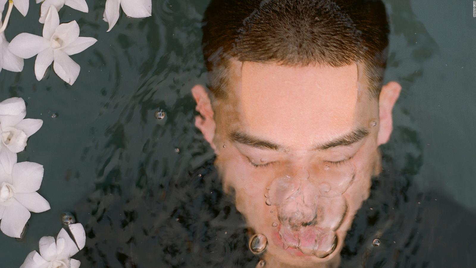 Asian white men men Curing my