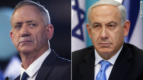 Gantz and Netanyahu have been trapped in political deadlock for months.
