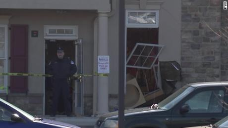 Authorities are investigating why the driver crashed the car into the day care center.
