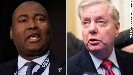 Debate in the US Senate of South Carolina changed format after Lindsey Graham refused to take the Covid-19 test