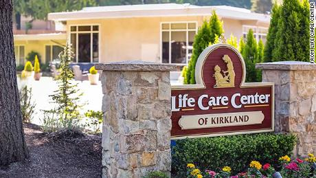 At least six cases of novel coronavirus, including one death, have been linked to image of the Life Care Center in Kirkland, Washington.