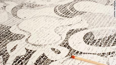 The Japanese calligrapher who keeps a forgotten female ancient script alive