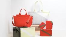 Rothy's new collection of handbags made from recycled ocean plastic waste.