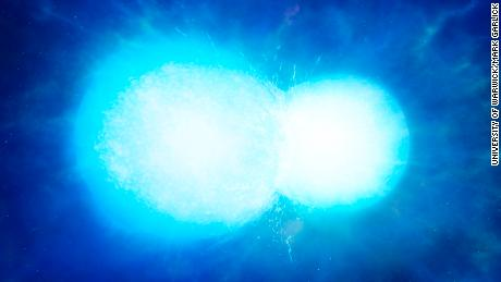 Bizarre, ultra-massive white dwarf star are probably two that intertwined, astronomers say