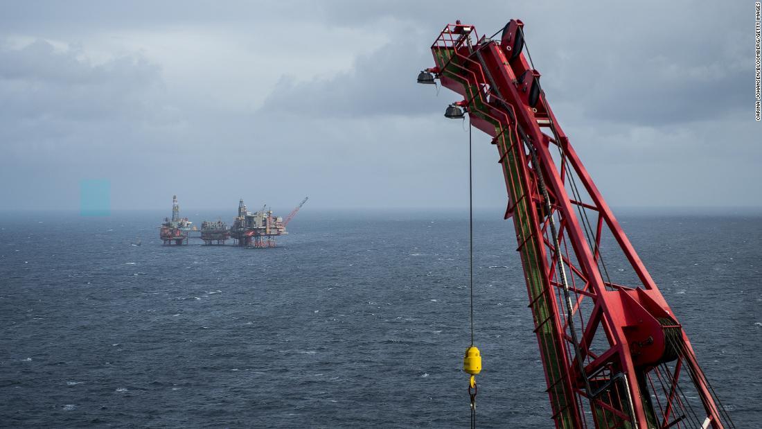 市場の騒乱公開の懸念という石油会社
