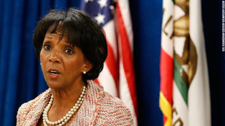 Los Angeles County District Attorney Jackie Lacey is seeing a third term in Tuesday's electios.