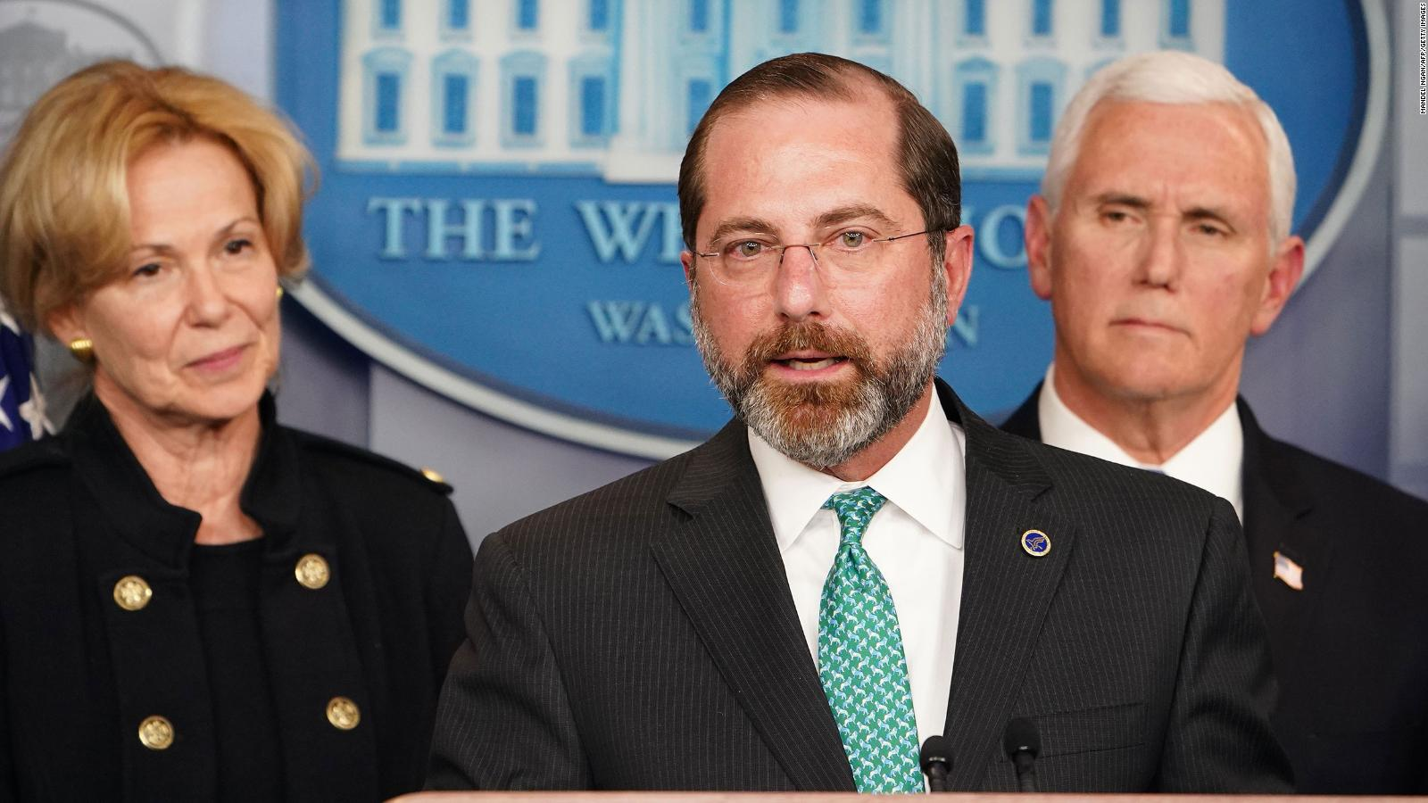 Alex Azar White House Officials Are Discussing Plans To Replace Health And Human Services Secretary Cnnpolitics