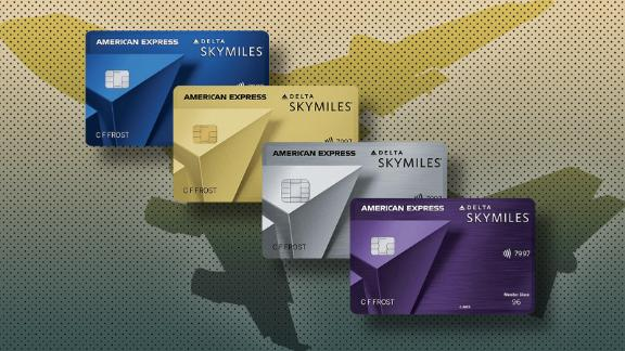 Delta credit cards from American Express.