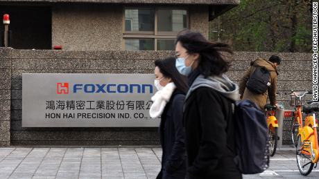 Foxconn, also known as Hon Hai, is the world's largest contract electronics manufacturer and the main iPhone and iPad assembler.