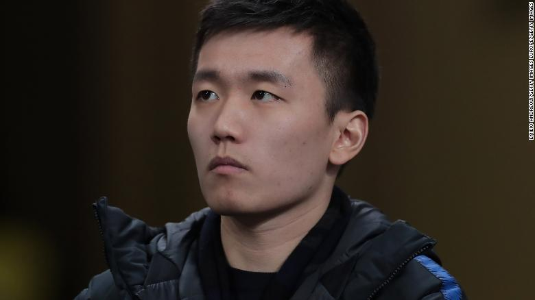 Steven Zhang was critical of Serie A's handling of the schedule following the coronavirus outbreak.