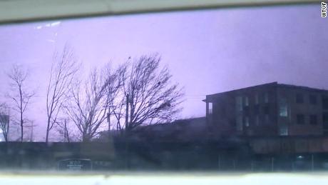 Meteorologist was on air when tornado struck near station
