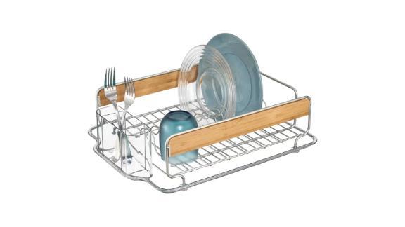 Wayfair Chris Stainless Steel Countertop Dish Rack