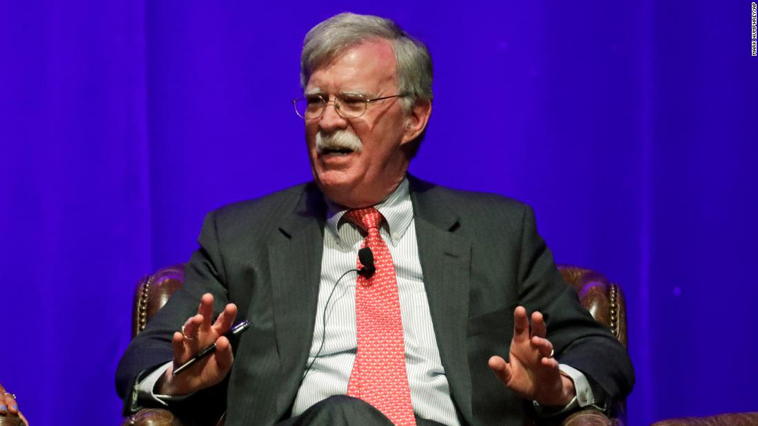 John Bolton's book has been delayed until May due to White House review