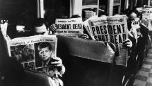 Wall Street rebounded after President John F. Kennedy was assasinated in 1963.