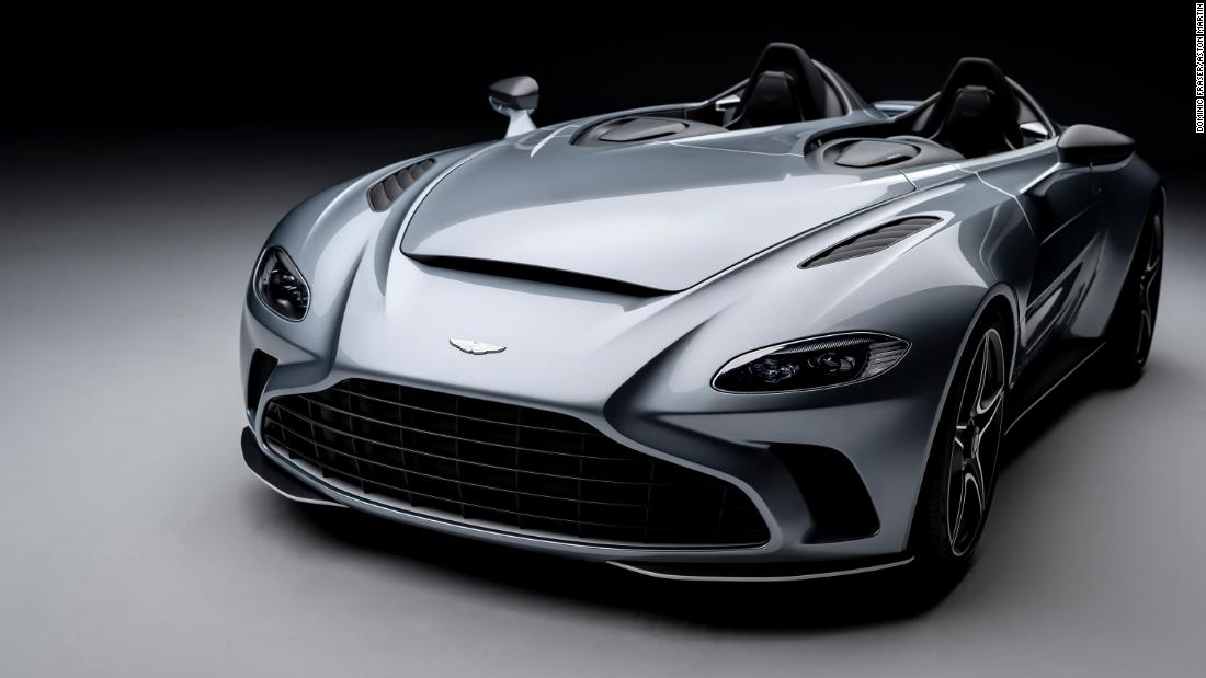 Aston Martin reveals $950,000 supercar with no roof or windshield