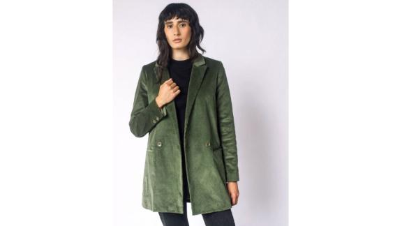 Wildfang Empower Corduroy Double Breasted Blazer