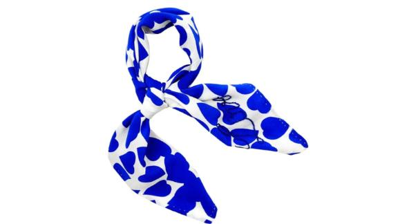 Beulah London Blue Bless it Forward Silk Tie