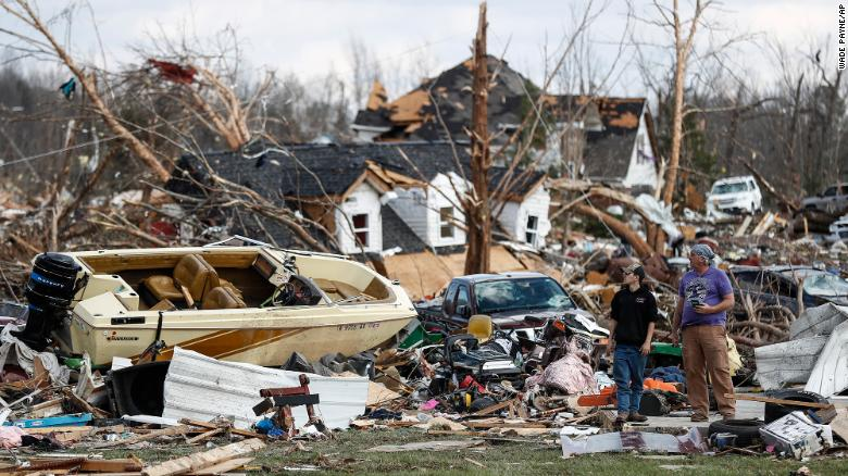 Tennessee Gov. Bill Lee said numerous homes and structures across the state were destroyed.