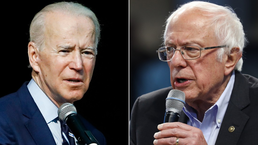 Image for Bernie Sanders' ceiling and Joe Biden's 'Avengers'