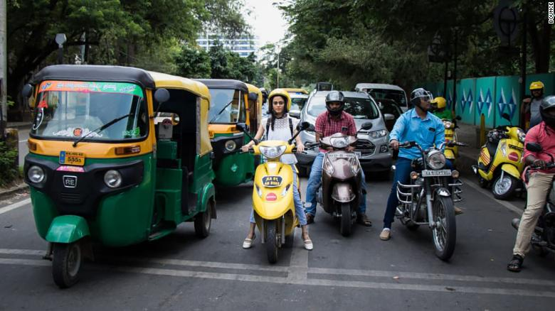 Bangalore is the world's most congested city, but car-sharing and scooter-hire apps could help cut traffic.