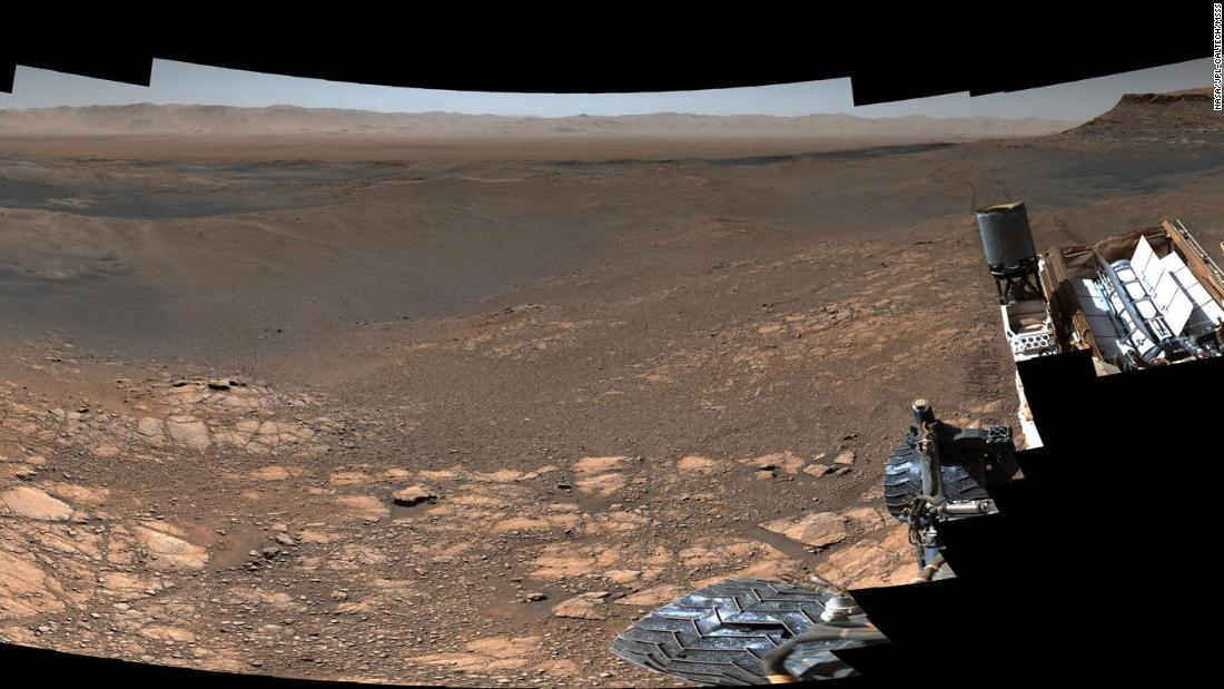 NASA's Curiosity rover captured its highest-resolution panorama, including more than a thousand images and 1.8 billion pixels, of the Martian surface between November 24 and December 1, 2019.