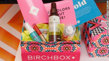 Birchbox is widely credited for popularizing the subscription box service trend.