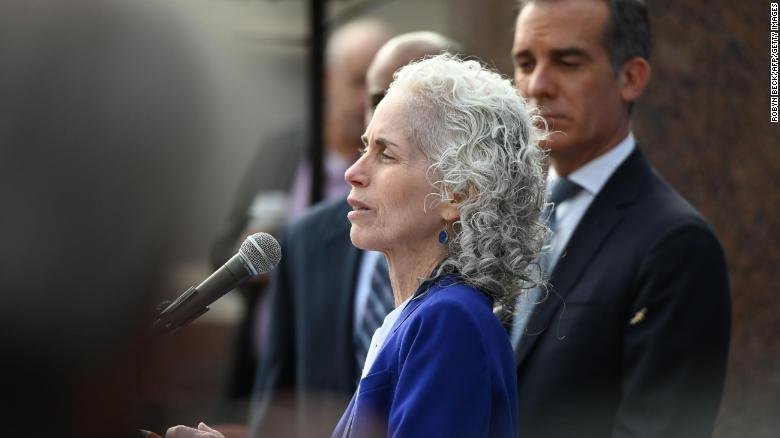 Los Angeles County Public Health Director Barbara Ferrer said she has been getting threats since March.