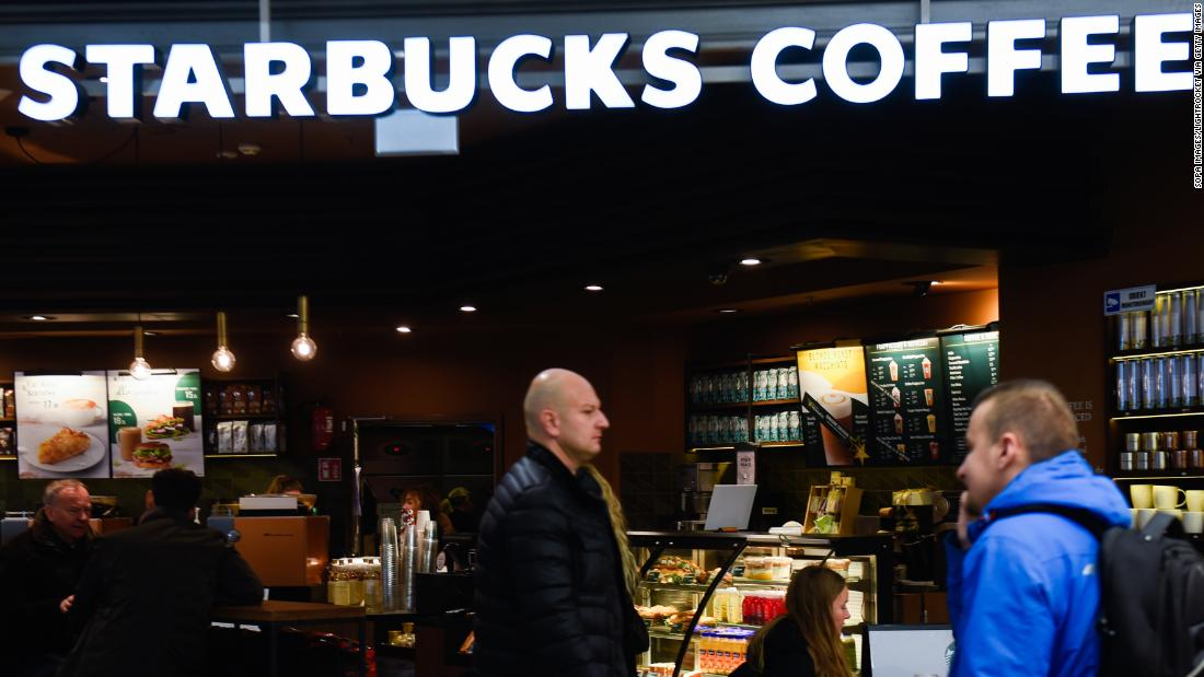 Coronavirus forces Starbucks to halt the use of personal cups at its stores