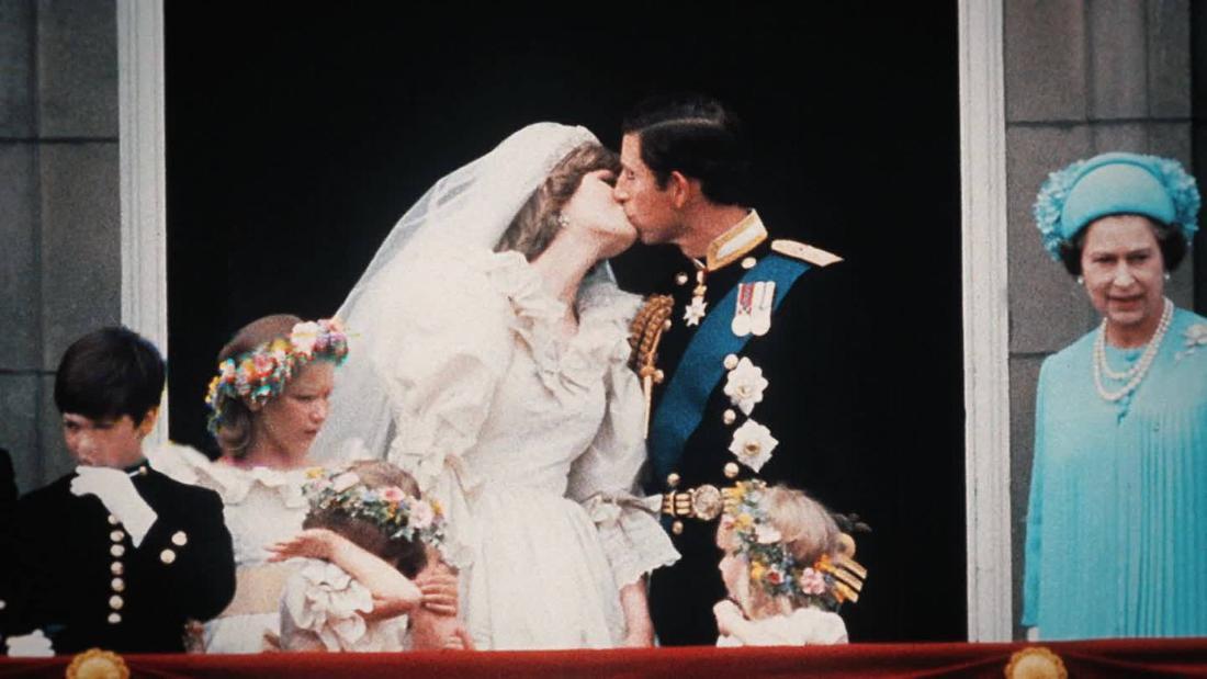 Der moment Charles und Diana heiraten