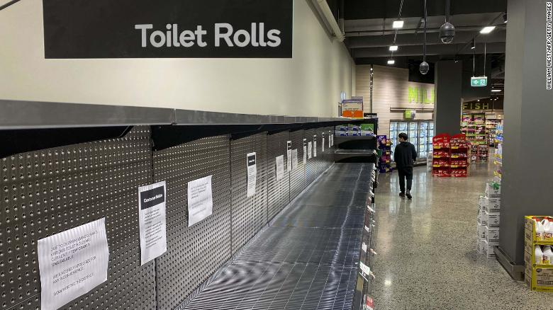 Supermarkets in Australia are largely selling out of toilet paper due to novel coronavirus fears. An Australian newspaper even printed out eight extra pages in a recent edition to serve as emergency toilet paper.