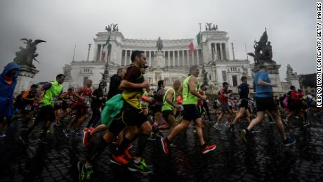 Rome marathon canceled over coronavirus fears