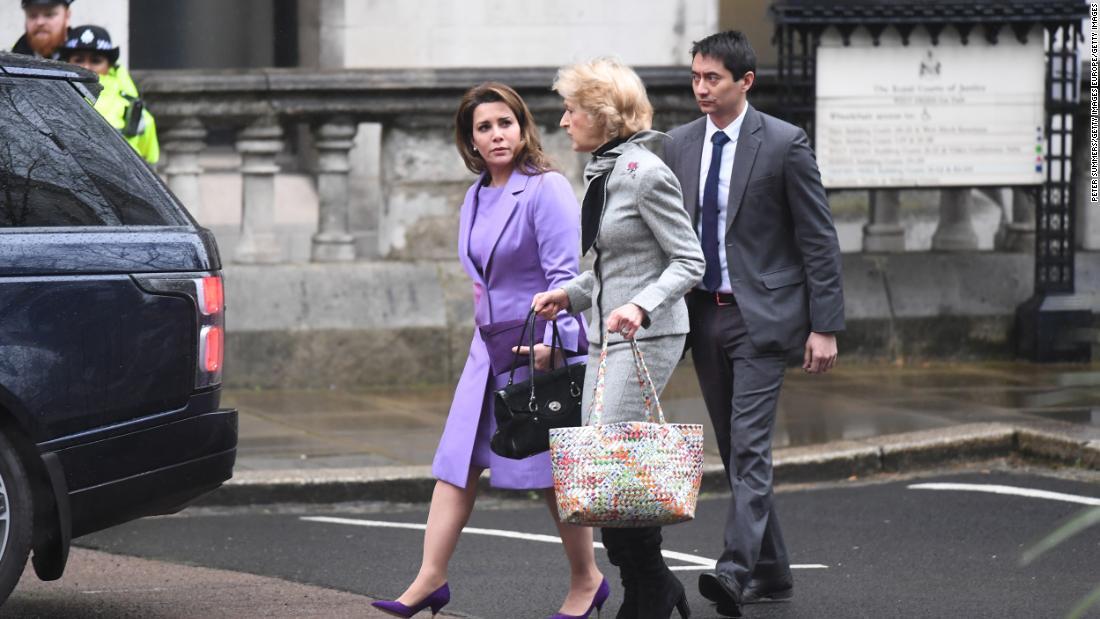 裁判所がドバイの支配者た嫌がらせを元妻海外