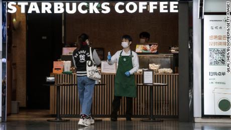 Starbucks predicts a 50% sales drop in China because of coronavirus