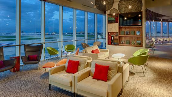 Amex Centurion Lounges provide a place to get away from the crowds when you