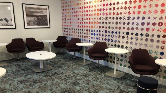 The family room at the LAX Centurion Lounge will be fully equipped with toys.