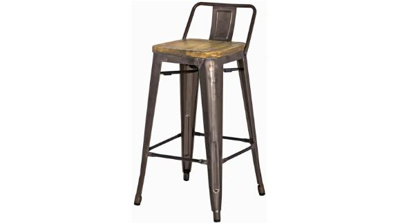 Wayfair Trent Austin Design Shumake Solid Wood Bar & Counter Stool